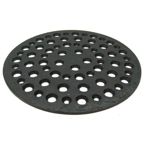 """9 1/2"""" Cast Iron Grate Floor Drain Cover"""