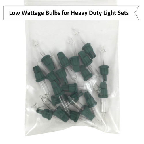 2.5 Volt ES Mini Replacement Bulbs for HD Light Sets, Clear, 100 mA