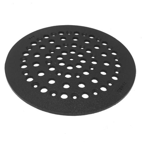 """10 1/2"""" Cast Iron Grate Floor Drain Cover"""