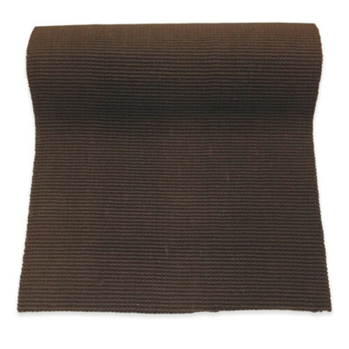 "Non-Slip Brown Jute Runner - 27"" Wide By Any Length"
