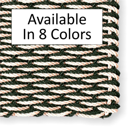 "Cape Cod Doormat Wave Pattern 28"" x 36"" Residence Size"