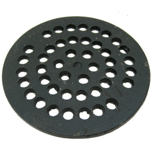 "5-3/4"" Cast Iron Grate Floor Drain Cover"