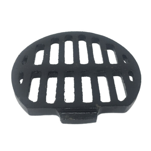 "6 - 3/8"" Flat-Sided Bar Strainer"