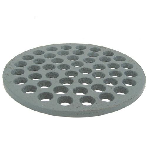 "6 3/8"" Cast Iron Grate Floor Drain Cover - Gray"