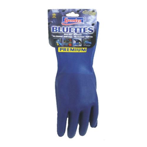 Spontex Bluettes, Heavy Duty All Purpose Household Cleaner Gloves
