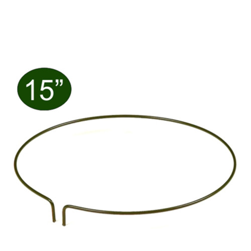 """Peacock Garden Plant Ring 15"""""""