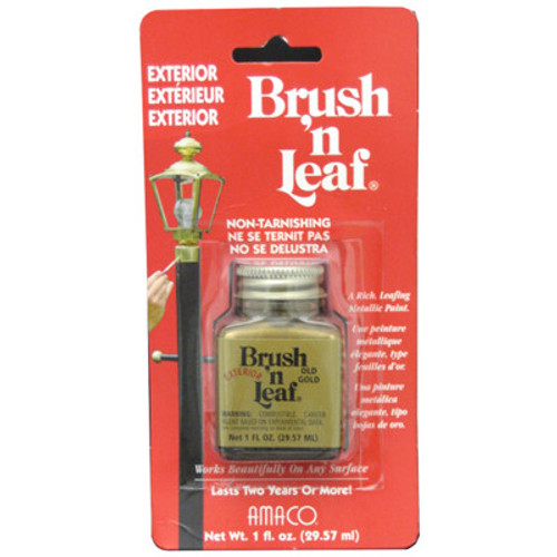 Brush 'n Leaf Interior Exterior Gold Touch Up Paint