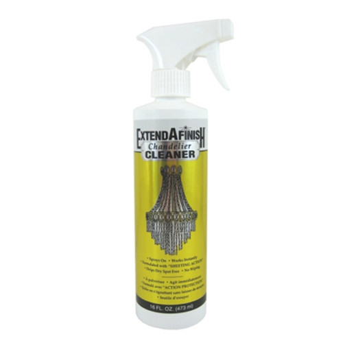 Extend A Finish Crystal Chandelier Cleaner Spray Bottle, 16oz