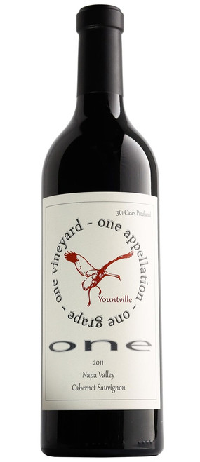 ONE 2011 Yountville Cabernet