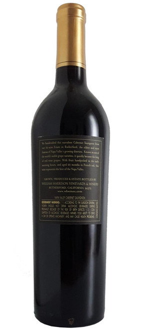 William Harrison 2014 Cabernet