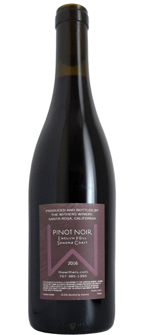 The Withers 2016 English Hill Pinot Noir