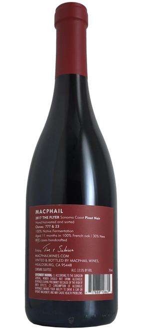 MacPhail 2017 The Flyer Pinot Noir