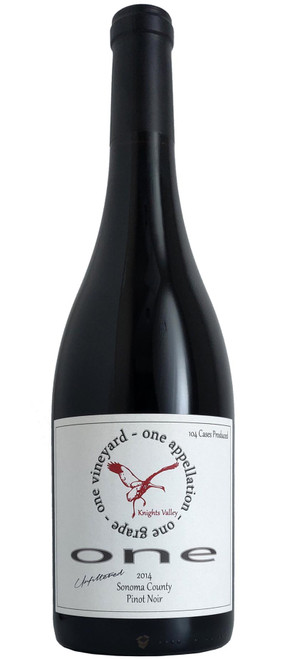 ONE 2014 Sonoma Pinot Noir
