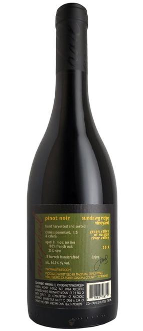 MacPhail 2014 Sundawg Pinot Noir