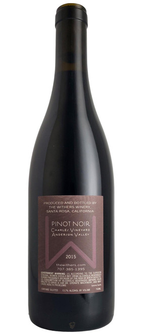 The Withers 2015 Charles Vineyard Pinot Noir