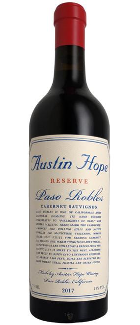 Austin Hope 2017 Reserve Cabernet