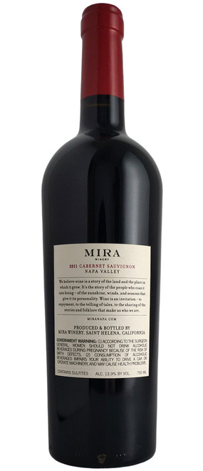 Mira 2011 Cabernet Sauvignon