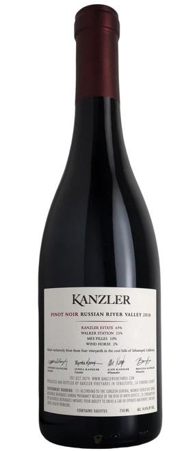Kanzler 2018 Russian River Pinot Noir