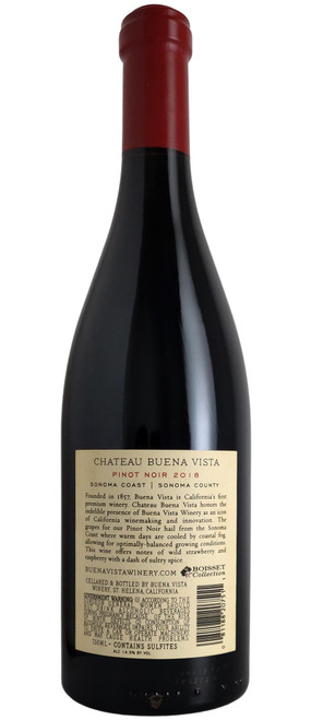 Buena Vista 2018 Sonoma Pinot Noir