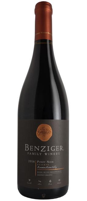 Benziger 2016 Reserve Pinot Noir