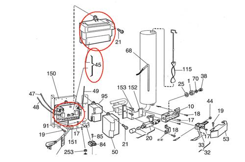 Dometic Universal Power Board Module 3850415013