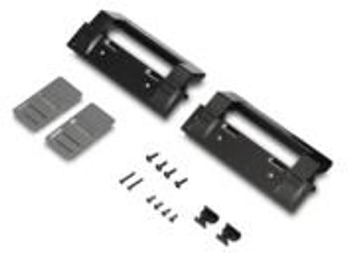 Refrigerator Door Handle; Replacement For Dometic DM2672/ DM2872 Model Refrigerators; Black; Set Of 2; With Hardware