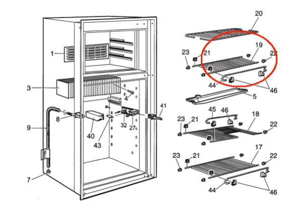 Dometic Wire Shelf 3850324033