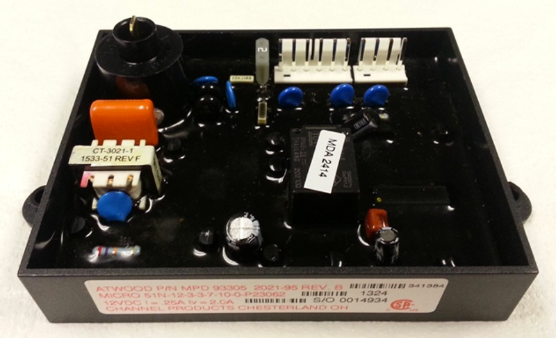 Atwood 93307 RV Water Heater PC Circuit Control Board 93865