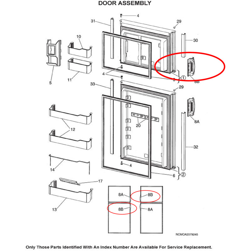 Dometic Refrigerator Parts Schematic | Wiring Diagram