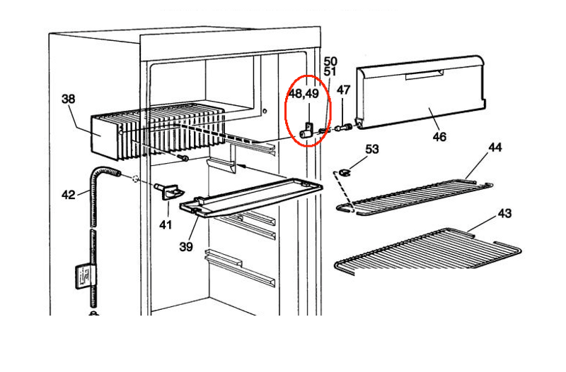 dometic parts dometic rv refrigerators and parts for sale! Dometic Refrigerator Break Down