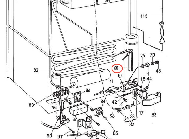 Dometic Ac Heating Element 3850644422