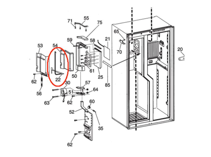 Dometic Water Drain Heating Element 385141101