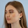 spring flower earring gift ideas, delicate flower earrings, unique flower earrings