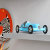 perfect gift for racing fan, blue car model gift ideas