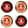 Jonathan Adler Full Dose coasters set of four,