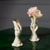 icecream porcelain white vase, beautiful gift ideas, chic porcelain vases, graduation gift ideas