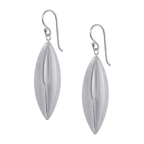 Christin Ranger Sterling Silver Elliptic Earrings