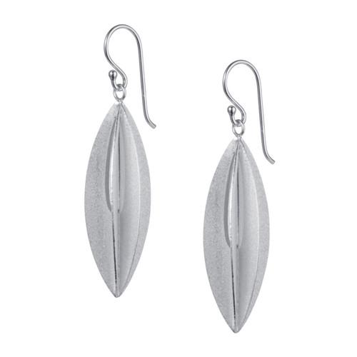 Christin Ranger Sterling Silver Elliptic Earrings