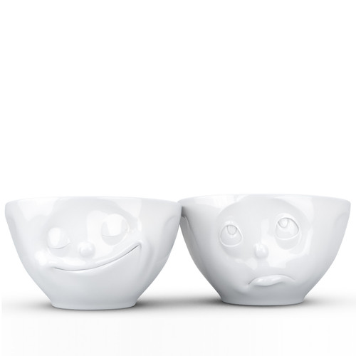 Fiftyeight ProductsMedium Bowls Set Happy & Oh Please 200 ml