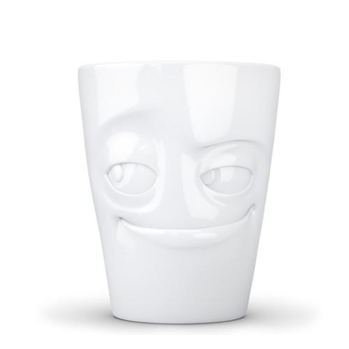 Fiftyeight products white mug with handle Impish 350 ml