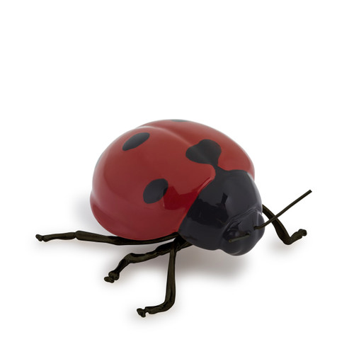 decorative ceramic red ladybird, modern gift ideas, thoughtful gift ideas