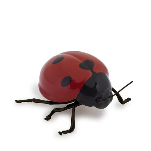 decorative ceramic red ladybird, modern gift ideas, thoughtful gift ideas