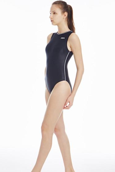 zipped swimsuit