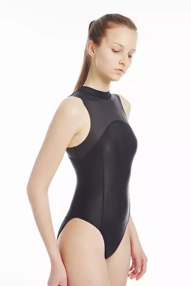 wetlook swimming costume