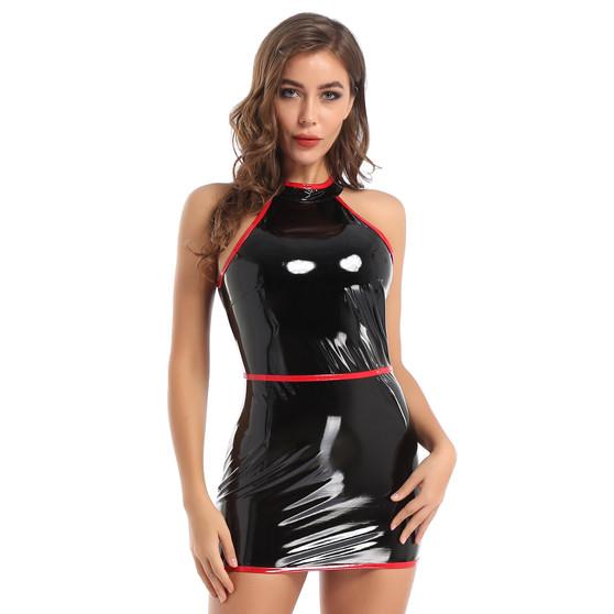 sexy pvc dress