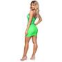 neon bandage dress