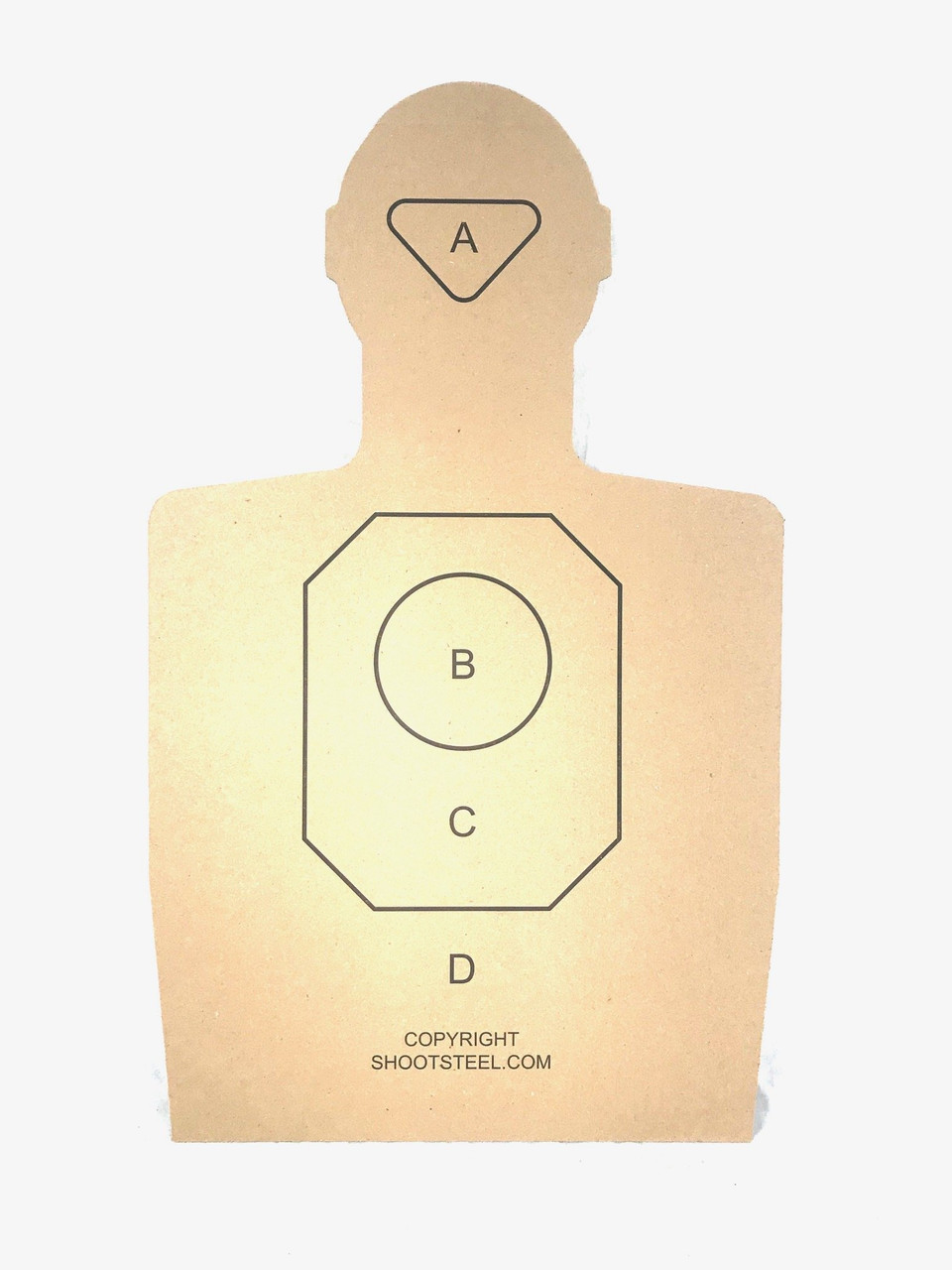 ShootSteel.com Training Targets - Pack of 100