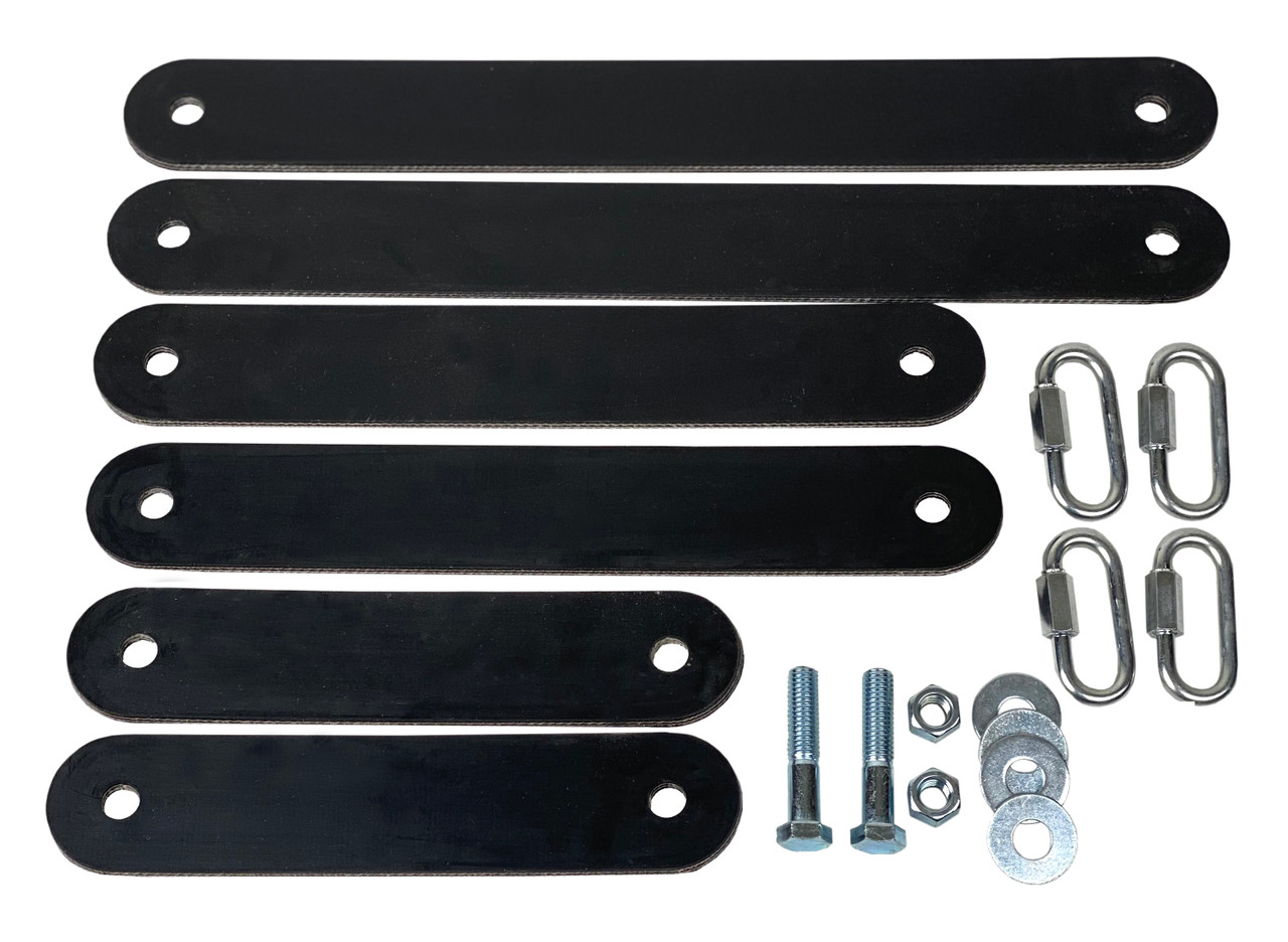 Gong Target Mounting Kit - Rubber Chain