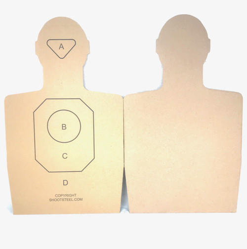 ShootSteel.com Training Targets - Pack of 100