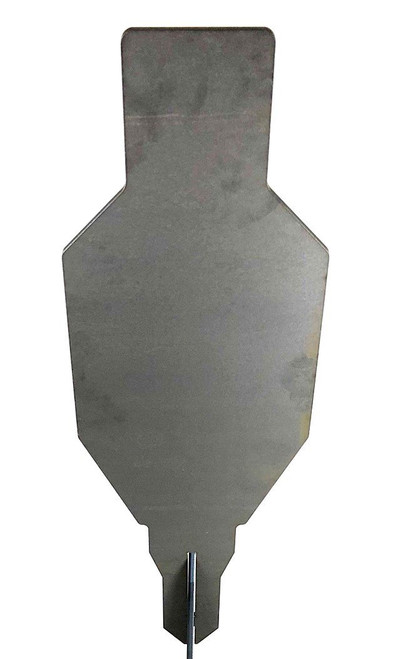"""Evil Roy® Target System - 3/8"""" AR550 12""""x25"""" Silhouette Target Only"""